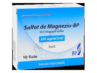 sulfat de magneziu 250 mg ml